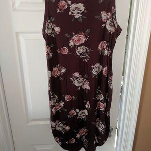 Summer Flower Stretchy Dress